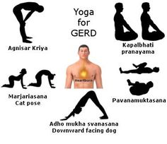 GERD/Heartburn/Acid-reflux yoga poses