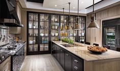 Those glass cabinets are AMAZING