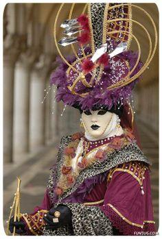 Amazing Carnival Costume Venice