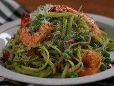 Kale and Pea Pesto Pasta : Recipes : Cooking Channel by Haylie Duff