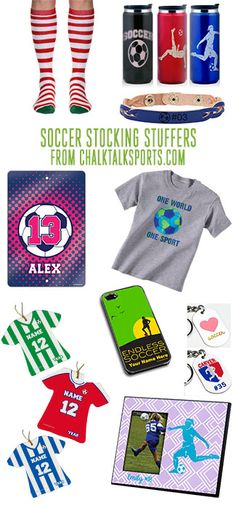 Our soccer stocking stuffers are perfect for any soccer player in your life!