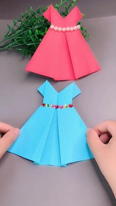 Paper Crafts Origami, Paper Crafts For Kids, Diy Paper, Diy For Kids, Diy Crafts Hacks, Diy Crafts For Gifts, Diy Crafts Videos, Diy Craft Projects, Instruções Origami