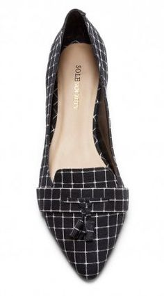I don't consider myself a plaid person ever, but I like these Celia shoes.