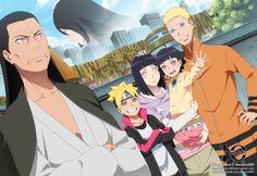 hinata father and naruhina family Naruto Uzumaki, Anime Naruto, Naruto And Sasuke, Naruhina, Himawari Boruto, Sarada Uchiha, Naruto Cute, Sakura And Sasuke, Hiashi Hyuga
