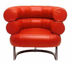 Bauhaus Sessel - Bibendum Chair - Entwurf Eileen Gray