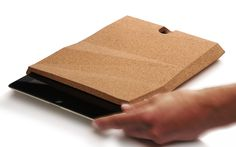 pomm.design.studio has created an iPadCase made entirely of cork