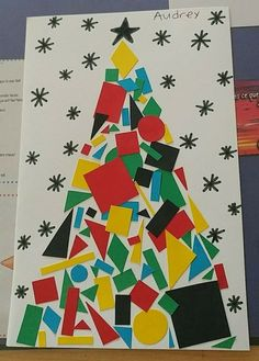 christmas art best ideas craft for toddlers christmas felt tree Christmas Art Projects, Preschool Christmas, Christmas Activities, Christmas Crafts For Kids, Christmas Fun, Holiday Crafts, Fun Crafts, Christmas Themes, Paper Crafts