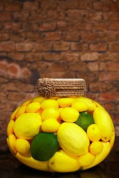 Sarabella Tuscan Art, Lemons and Limes