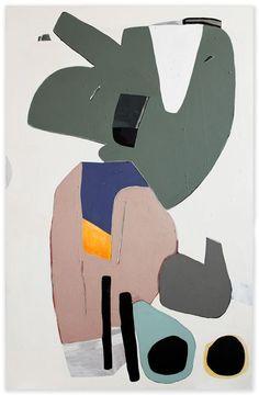 "Hayal Pozanti, ""A Tear of Petrol"" (2012). Acrylic on wood panel (47 x 73 "")"