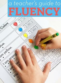 A Teacher's Guide to Fluency // Want to improve your students' fluency but don't know where to start? We'll walk you through it!
