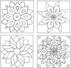 Easy Mosaic Patterns   tile compositions, arrange cool, fired tiles according to the pattern ...