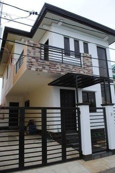 Two story house plans series php 2014012 pinoy house for Zen apartment design in the philippines
