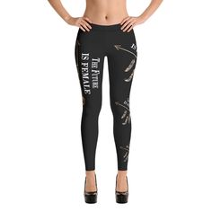 The Future is Female Leggings Trends, Shorts, Women's Leggings, Material, Sweatpants, Spandex, Female, Fashion, La Mode