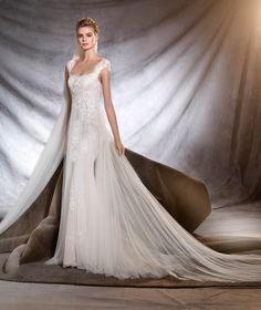 OASIS - Mermaid wedding dress with square neckline