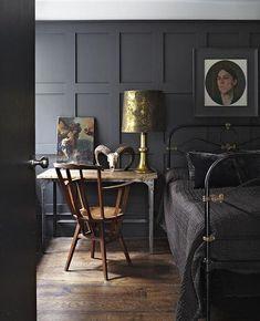 Dark and Moody Room Inspiration | Found on decor8blog.com