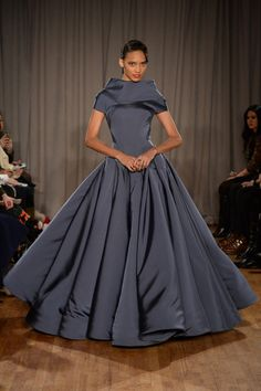 Zac Posen fall 2014 LOVE LOVE LOVE this gown.  Classic and elegantly timeless. Gorgeous
