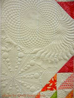 My Stars by Pat Roche. 1st place modern quilt.  2015 AZQG, closeup photo by Quilt Inspiration