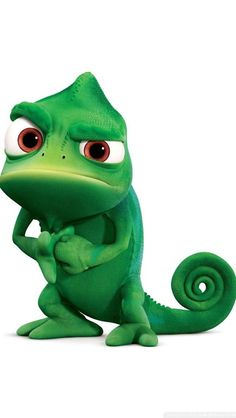 The Lizard From The Movie Tangled