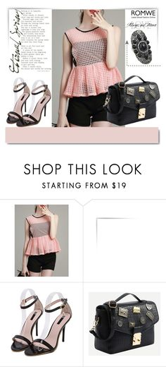 """""""ROMWE 11/9"""" by melissa995 ❤ liked on Polyvore featuring White Label"""