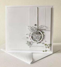 Chrismas Cards, Modern Christmas Cards, Christmas Card Crafts, Homemade Christmas Cards, Christmas Drawing, Christmas Cards To Make, Xmas Cards, Christmas Topper, Embossed Cards