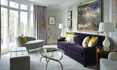 Architecture d'intérieur | Une déco classique par David Collins | #design, #décoration, #luxe. Plus de nouveautés sur magasinsdeco.fr/