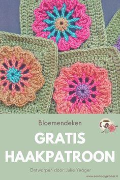 Julie Yeager ontwerpt schitterende haakpatronen, waaronder de Garden State Afghan waarbij je schitterende bloemen granny squares haakt. Maak de deken in je eigen lievelingskleuren en geniet van het prachtige resultaat. Door de vele foto's én videotutorials is dit haakproject geschikt voor beginners én gevorderden. Maak je eigen deken op formaat naar keuze, met het materiaal én de kleuren die jij het beste vindt passen. Dit veelzijdige project is leuk om te maken én om te aanschouwen.