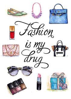 Fashion Is My Drug | Doll Memories