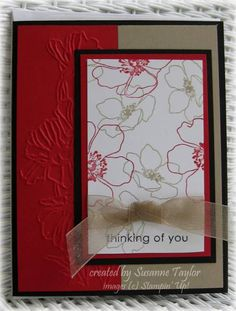 love this card for Operation Write Home by taylorsil - Cards and Paper Crafts at Splitcoaststampers