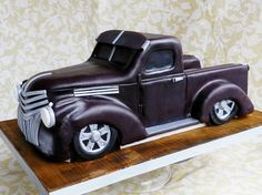 """Old Chevy - """"The Cake Whisperer"""".  Nice for a groom's cake."""