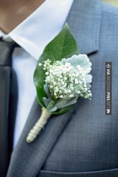 baby's breath and grey