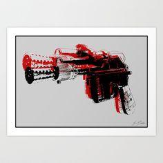 Blaster III Art Print by Evan Schiller - $16.00
