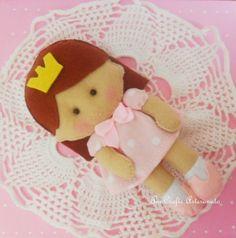 Princess doll felt