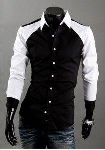 New men's Casual Luxury Stylish Slim Long Sleeve Shirts