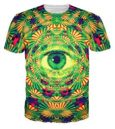 All Seeing Eye - Abstract T-Shirt