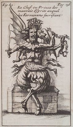 tagaoth:    A Formosan evil spirit -George Psalmanaazaar ~1712