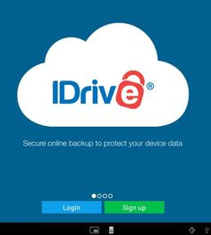Backup to the cloud or on the ground (on premise). For Desktop, Server, and Mobile devices alike - iDrive does the job! Cloud, Desktop, Tools, Instruments, Cloud Drawing