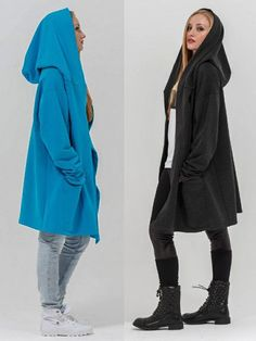 Выкройка «пальто с капюшоном для начинающих» 40-62