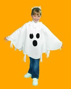 I could make something like Adam's ghost costume, but longer. Like the fleece idea. http://www.simplicity.com/t-how-to-sew-halloween-poncho.aspx#ghostponcho