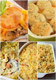 These 20 Weight Watchers Casserole Recipes will help you eat better while still enjoying your favorite comfort foods!