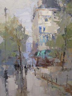 Available Artwork - BARBARA FLOWERS FINE ART Paris Street Anne Irwin