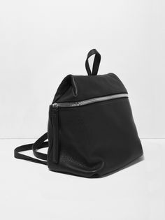 eaa6ab2a48 KARA Backpack in pebble leather Accessoires Divers
