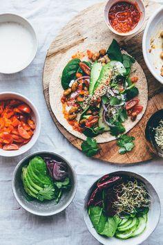 Vegan Tacos. Delish taco recipes at https://mexxispice.com/
