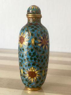 Online veilinghuis Catawiki: Bronzen Snuif-fles met geglazuurd cloisonne - China - Qing-dynastie, 19e eeuw