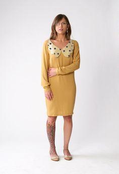 Winter fashion Fresh Women long sleeve dress by SharonBoazFashion