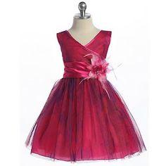 Vestidos de fiesta para niñas , Cual es el color que va con la personalidad de tu princesa?: Los románticos Rosa y fucsia