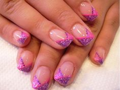 Easy and Cute Pink Nail Art Design Ideas