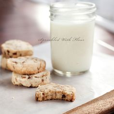 Brown Butter Pecan Shortbread by Amber (Sprinkled With Flour), via Flickr