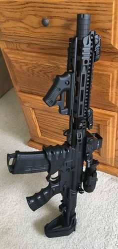 Zombie Weapons that People Really Obsessed With photos) Weapons Guns, Guns And Ammo, Rifles, Custom Guns, Airsoft, Tactical Gear, Tactical Survival, Assault Rifle, Cool Guns