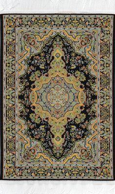 Orientalsk gulvtæppe