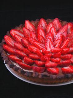Recette de 'the' tarte aux fraises